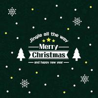 눈꽃 스티커 크리스마스 장식 시트지 LMXM-035 징글 트리 배너