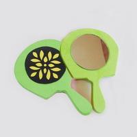 DIY 한지공예 손거울 만들기(연두색)