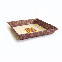 DIY 한지공예 사각접시 만들기