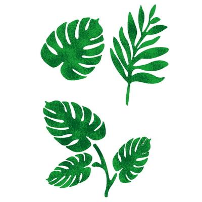 스텐실 도안(ST-2201)여름 나뭇잎