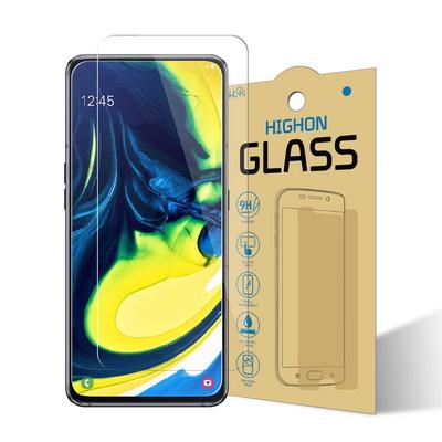 갤럭시A80 액정보호 강화유리 9H글라스 1+1매
