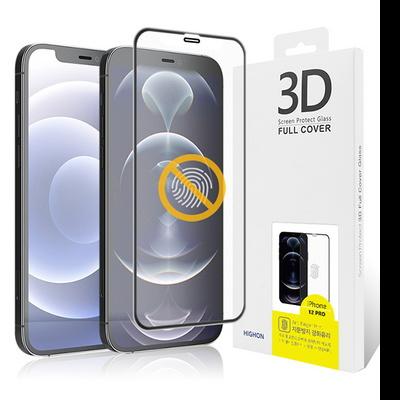 아이폰 12/12프로 3DF 풀커버 지문방지 강화유리필름