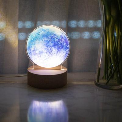 푸른달 무드등 LED액자 수면등 취침등