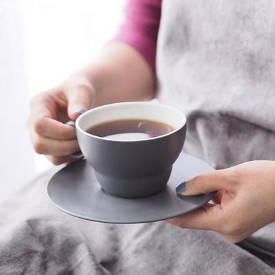 볼볼오리진 커피잔 1인조 세트(차콜그레이)