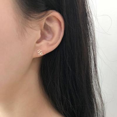 14k 큐티  침 귀걸이 2종