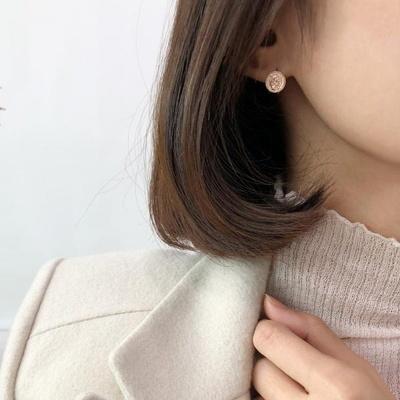 14K 엘리자베스 원터치 귀걸이