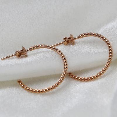 14k 버블 버블 링 귀걸이
