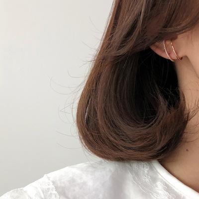 14K 이어커프 정려원 귀걸이