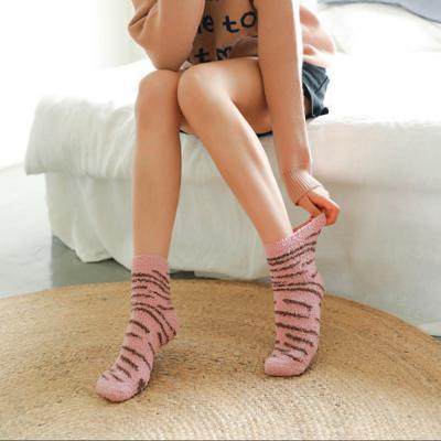 발바닥 수면양말 (핑크)