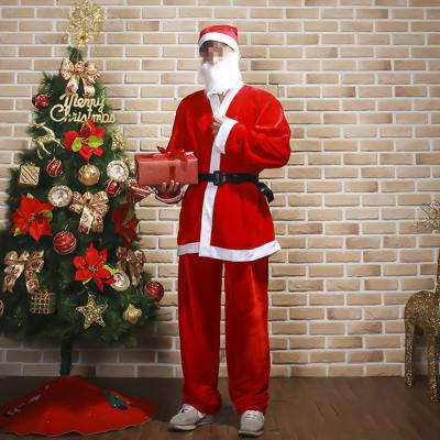 산타나라 크리스마스 성인 엄마아빠 산타 복장 고급 풀셋트