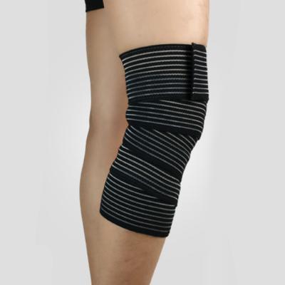 벨크로 무릎 보호대(블랙)