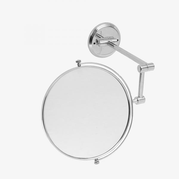 두코 벽걸이 양면 거울(실버)