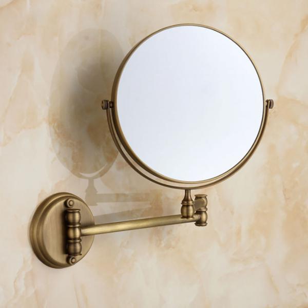 두코 벽걸이 양면 거울(브론즈)