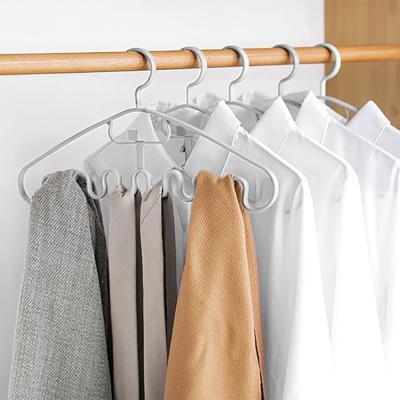 더홈 연결고리 물결 옷걸이 5p세트 공간활용 넥타이