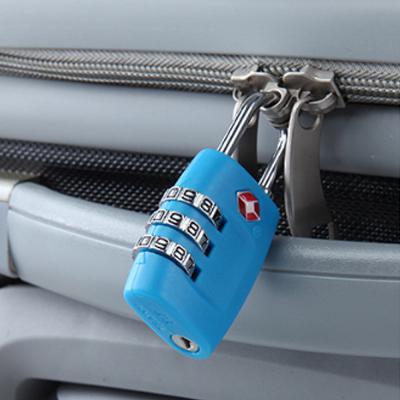 심플락 3자리 TSA 자물쇠(스카이)