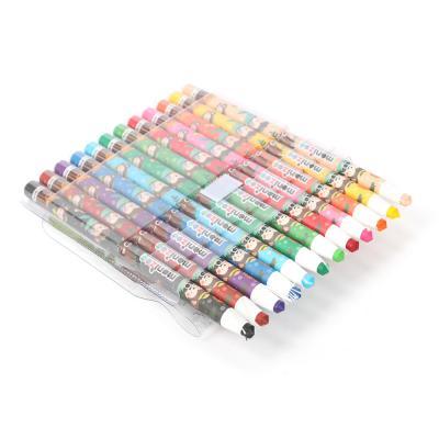 모나미 종이말이 색연필 12색(블루)/ 색연필세트