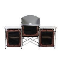 이지캠프 접이식 캠핑테이블/ 키친 야외테이블