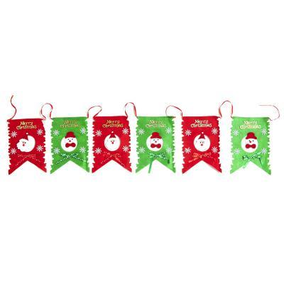 크리스마스 패브릭 가렌드(산타&눈사람)/트리 벽장식