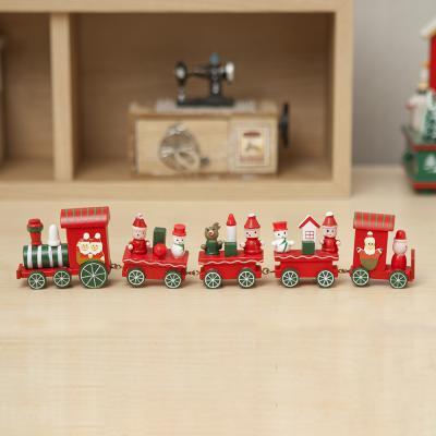 로즈트리 크리스마스 꼬마기차 인테리어 장식소품