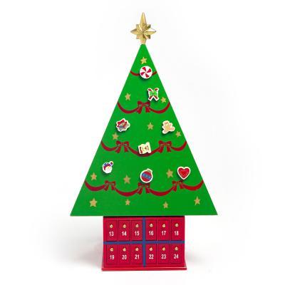 성탄 선물박스 원목 트리/크리스마스장식 인테리어소품