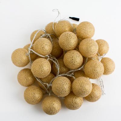 MonTree 골드 코튼볼 30p 인테리어 트리 방꾸미기