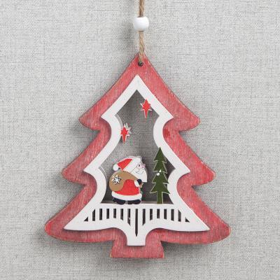 산타 트리 나무 장식/크리스마스벽장식 트리오너먼트