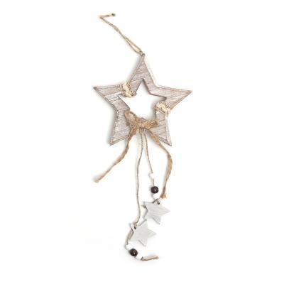 내츄럴 하얀별 나무 장식/크리스마스장식 트리장식