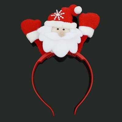 불빛 산타 머리띠(LED) 성탄절 이벤트 행사 용품
