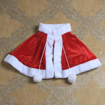 크리스마스 망토 모자 세트 산타복세트(여성)