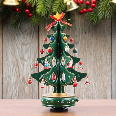 오르골 크리스마스 트리(그린)