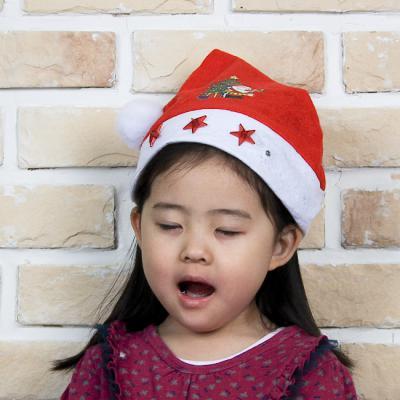 별 램프 아동용 산타모자(33cm×25cm) 산타의상