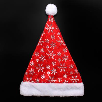 레드 눈꽃 크리스마스 산타모자(40cm) 산타모