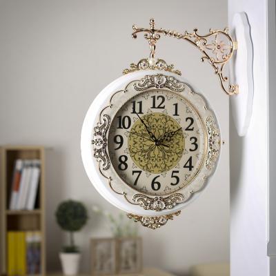 글로리아 원목 양면 벽시계/인테리어시계 양면시계
