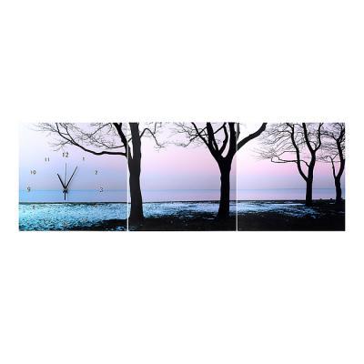 나무와 바다 벽걸이시계/카페 가게 인테리어벽시계
