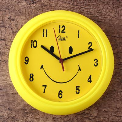 스마일벽시계 인테리어용 귀여운 캐릭터벽시계