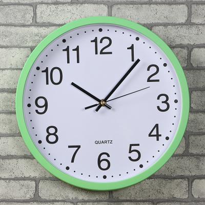 레트로인테리어 무소음 벽시계/선물 원형 벽걸이시계