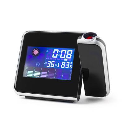 LED 디지털 레어저빔 탁상시계/무소음시계 알람시계