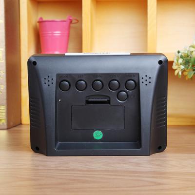LED 백라이트 디지털 탁상시계/알람시계 무소음시계