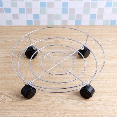 스텐 이동식 받침대(32cm)/화분받침대 화분진열대