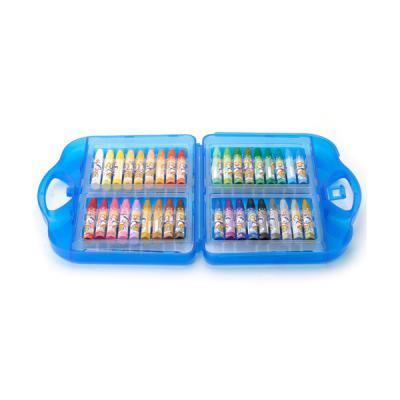 36색 뽀로로 가방 크레파스(파랑)/학원판촉용