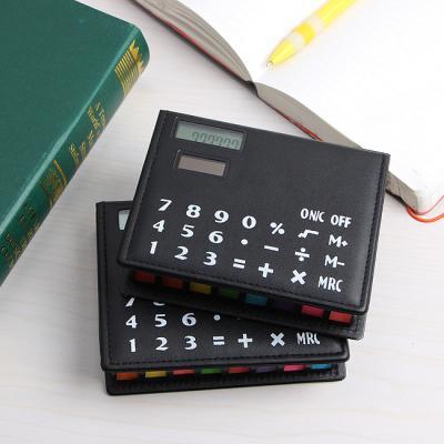 100매 접착메모지 계산기 세트/사무용계산기 메모지