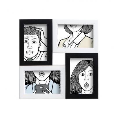 갤러리 인테리어 사진액자(4×6)(네모형)/벽걸이액자