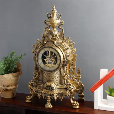 골드캐슬 엔틱 탁상시계/시계선물 엔틱시계 인테리어시계