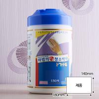 청소박사 1714 원통(150매)/단체주문 잡화점