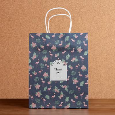 플로워머스태쉬 쇼핑백(26cm)/선물포장 팬시 종이가방
