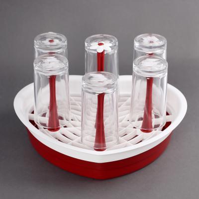 키친웨어 꽃기둥 컵건조대/컵걸이 컵거치 젖병건조대