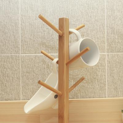 에코 원목 컵걸이/친환경 주방용품 컵꽂이 컵거치대