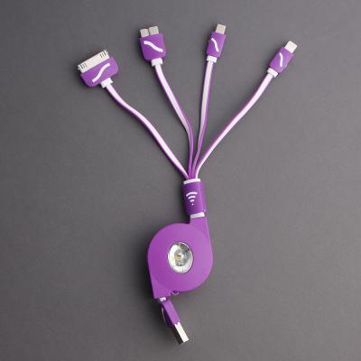 릴타입 USB 충전케이블 5핀 8핀 30핀/스마트폰충전기