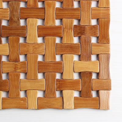 썸머 라탄 대나무 방석/차량용방석 여름방석 통풍방석