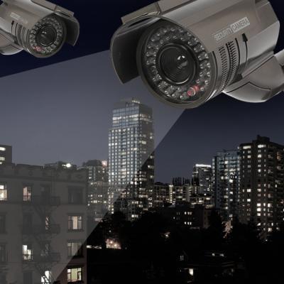 태양광 아이존 S5 모형 감시 카메라/모형CCTV 방범